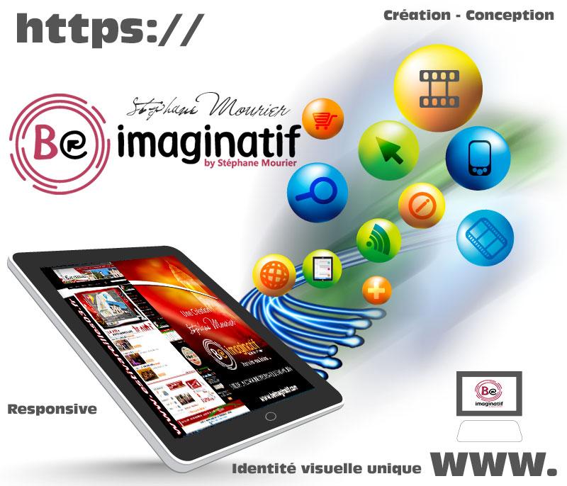 Création Site Internet Et Boutique Web avec Be Imaginatif