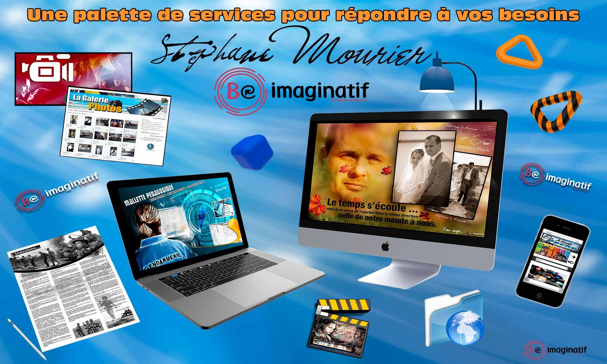 Les Services proposés par Be Imaginatif