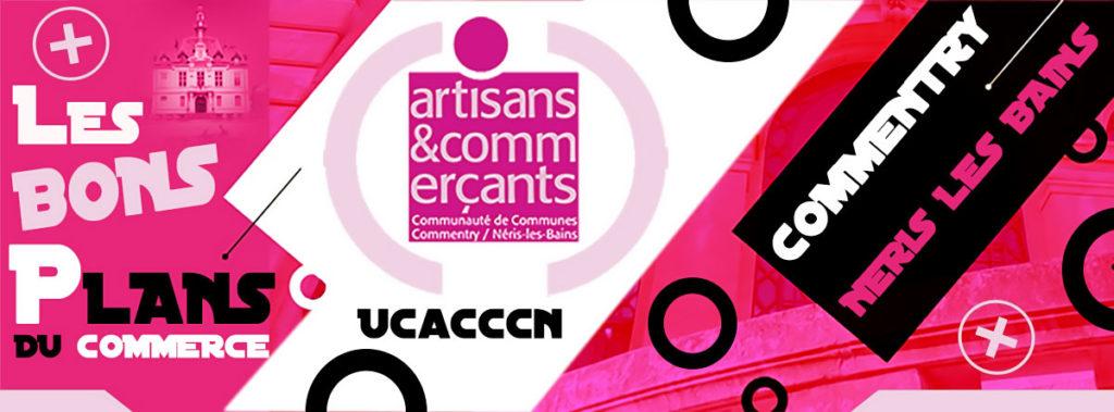 UCACCCN | L'Union des Commerçants et Artisans de Commentry et Néris-les-Bains