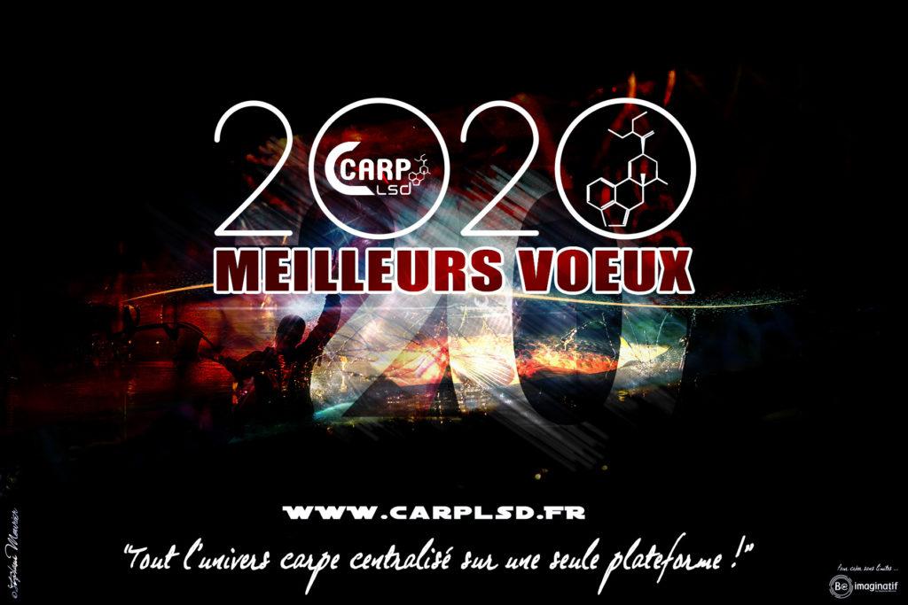 CARTE DE VOEUX CARP LSD   BE IMAGINATIF