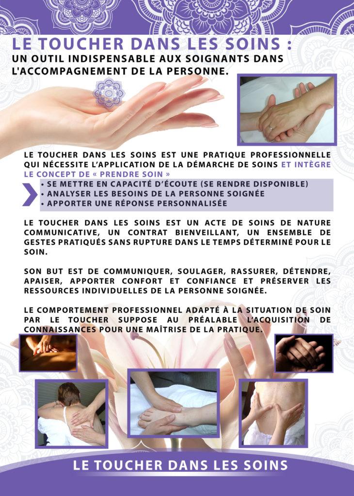 Le toucher dans les Soins | Hospital RIOM 63 | BE IMAGINATIF